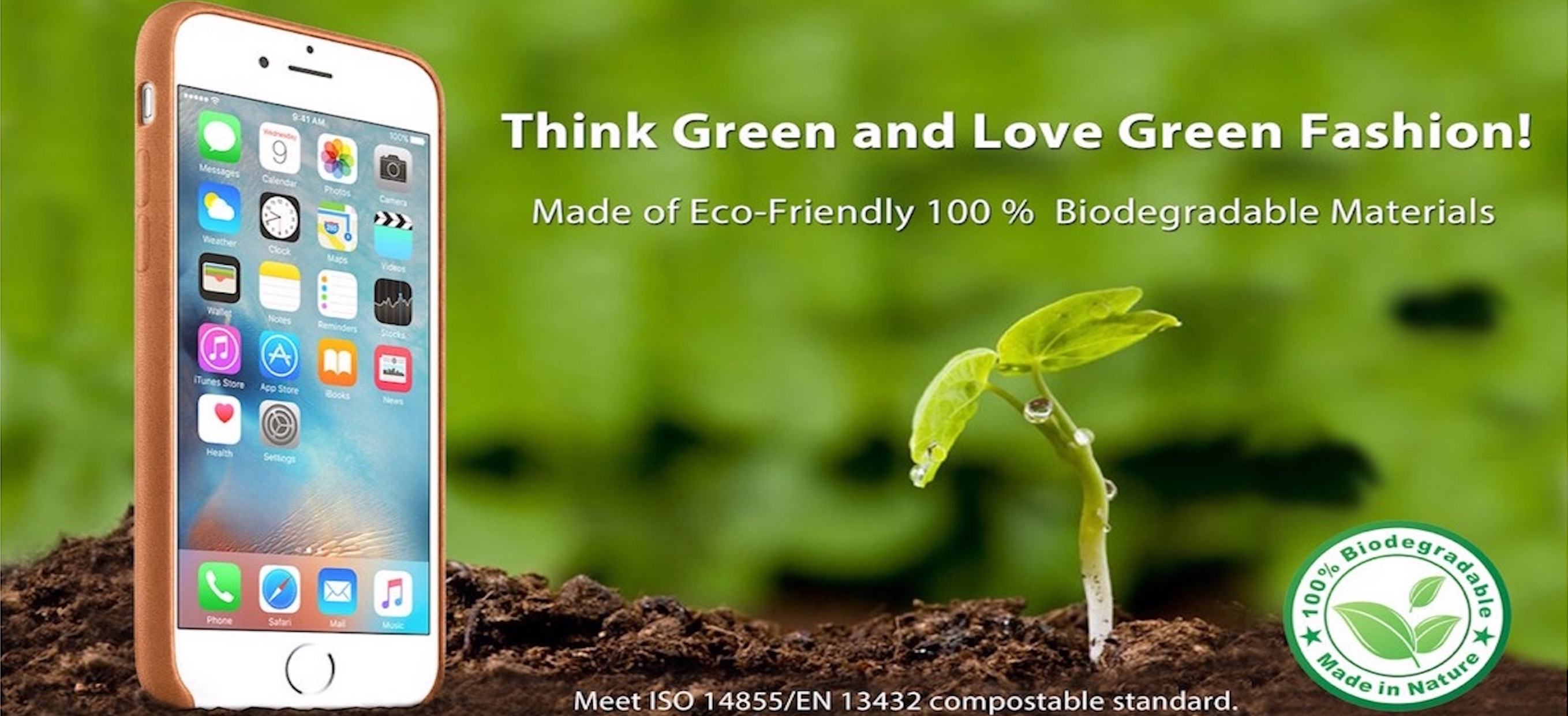 Biodegradable Leather Case