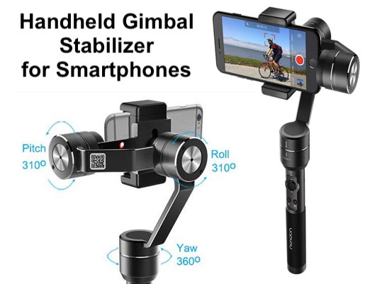 Handheld Gimbal Stabilizer for phones