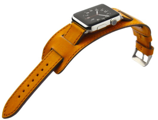 iWatch brown Leather Band