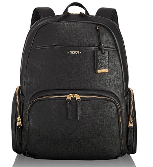 Luxury Leather Classic Backpack