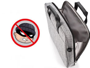 Anti-Theft bag for Macbook