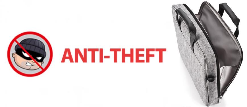 Anti-Theft Bag for MacBook