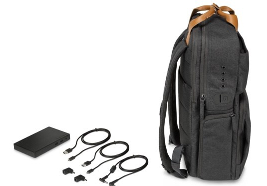 HP Powerup Backpack on-the-go
