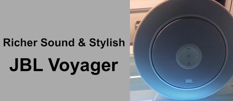Stylish JBL Voyager
