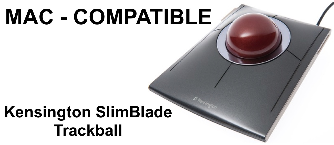 MAC-Compatible Kensington SlimBlade Trackball
