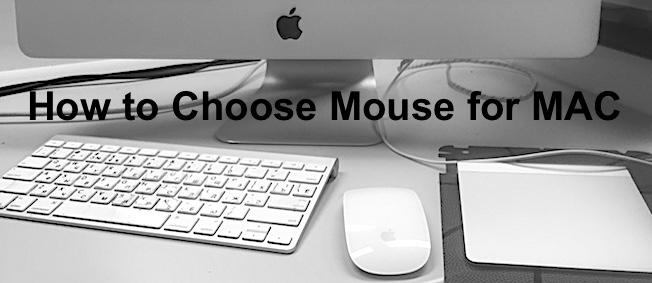 Mouse for your MacBook and iMac