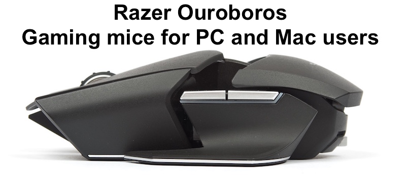 Gaming mice for PC and Mac users