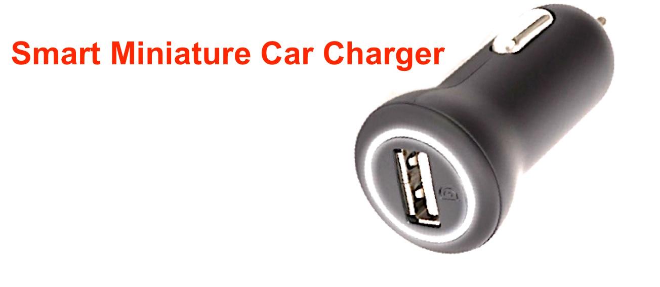 Smart Miniature Car Charger