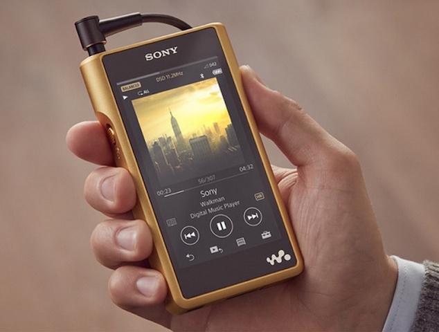 Sony's Gold Plated Walkman
