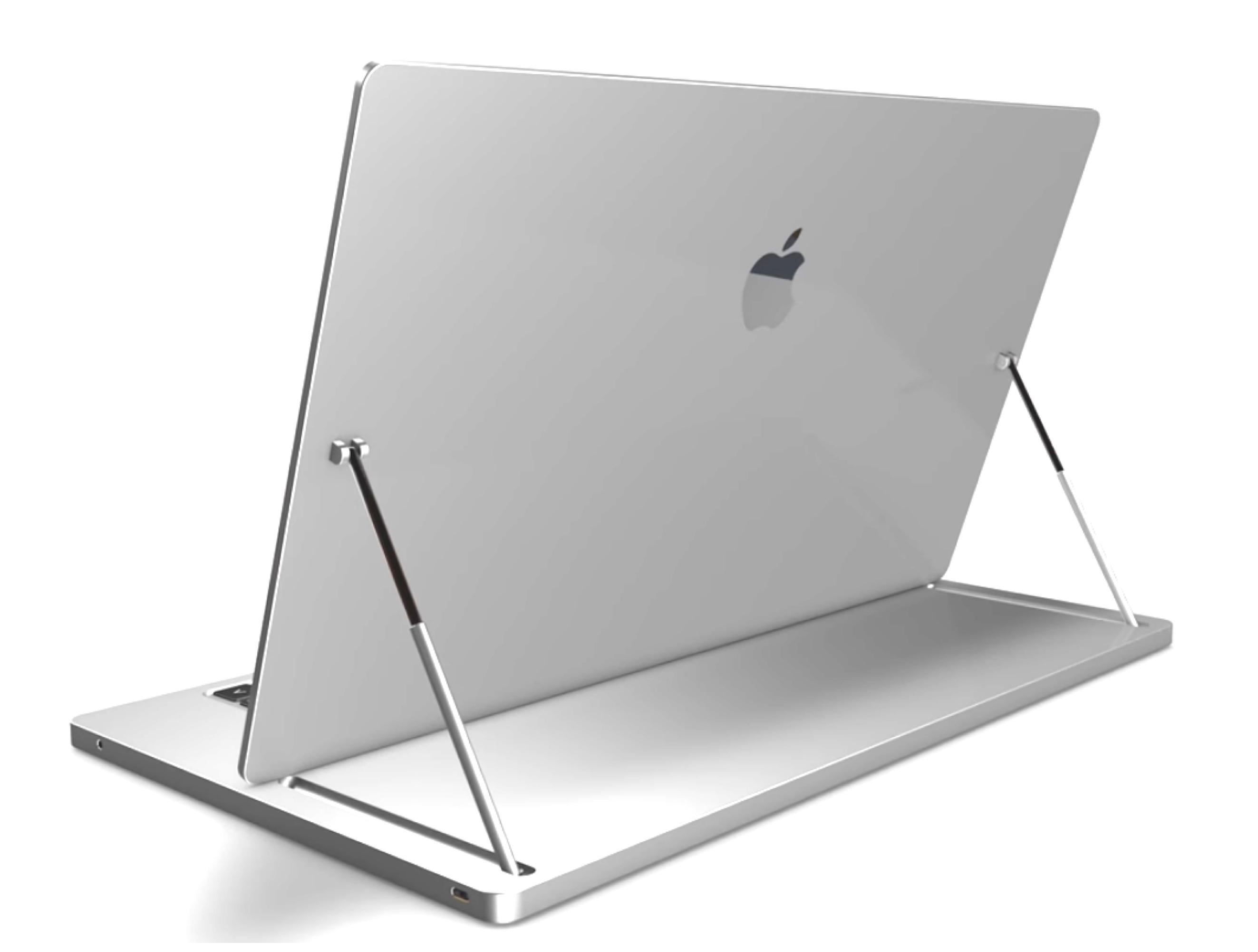 Apple Book Transforming Laptop