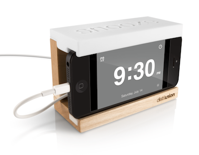 Turn Your iPhone into Alarm Clock