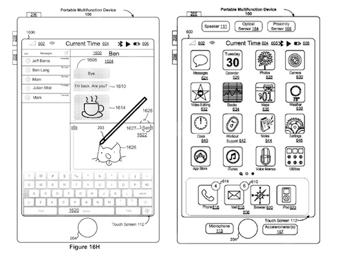 Apple Patented Smartphone With Pencil