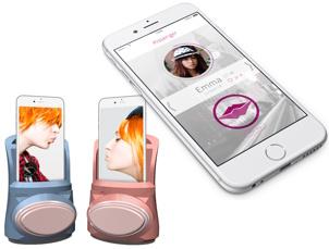 Kiss-Delivering Smartphone Case