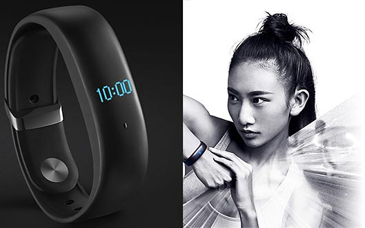 First Meizu Fitness Tracker with oled display