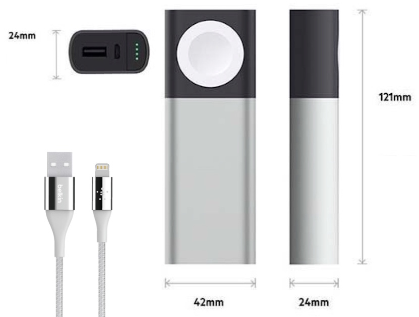 Belkin Charger for iPhone and AppleWatch