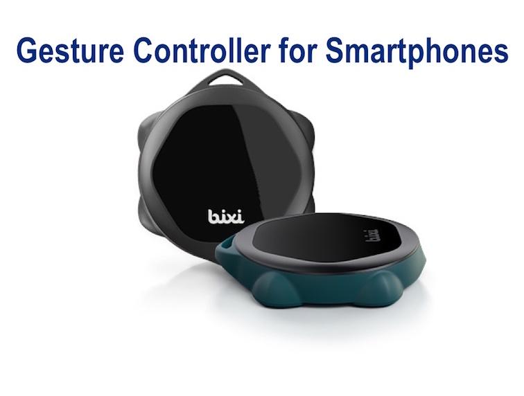 Bixi - Gesture Controller for Smartphones