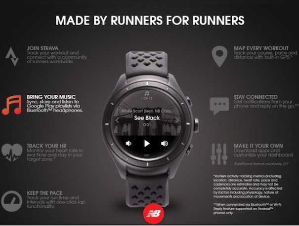 New Balance Smartwatch Is Available
