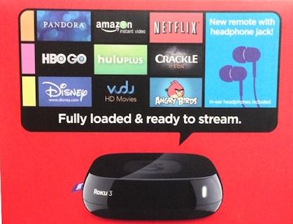 Roku 3 Video Streamer