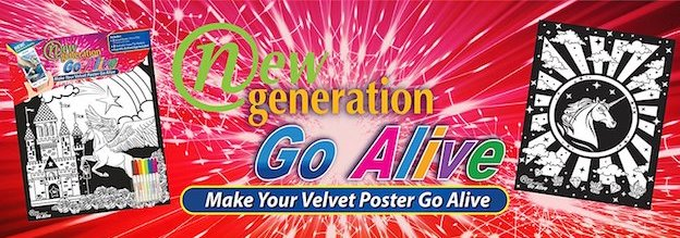 Augmented Reality Velvet Posters for Kids