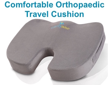Comfortable Orthopaedic Travel Cushion