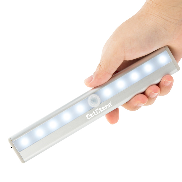 Compact LED Lights Silver