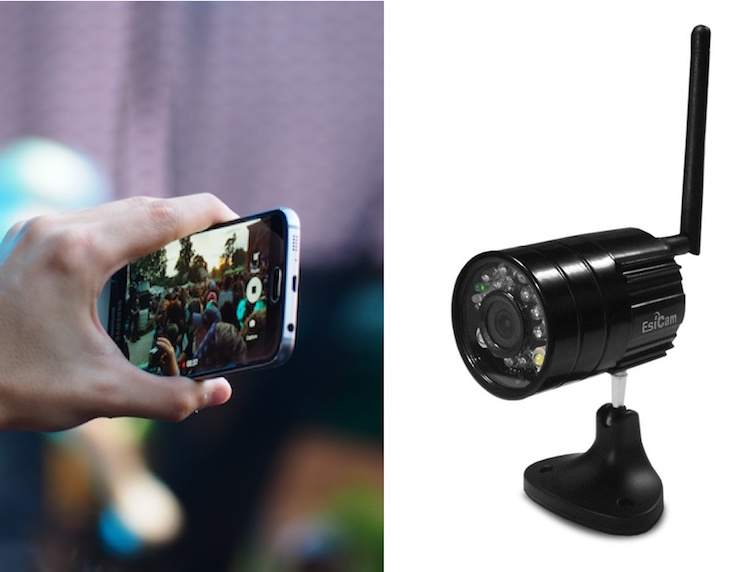 First Wireless Rearview Camera for iPhone and ipad