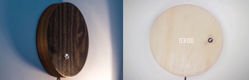 Floating Clock that Works on Magnets