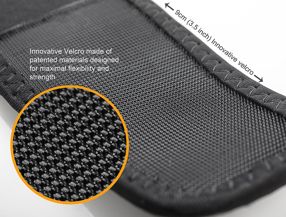 Innovative Velcro Knee Stabilizer for Physical Activities