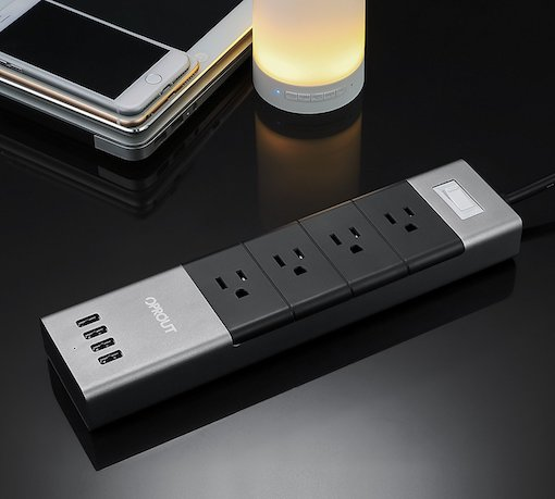 Oprout Multi-Tasking Surge Protector for Mobile Devices