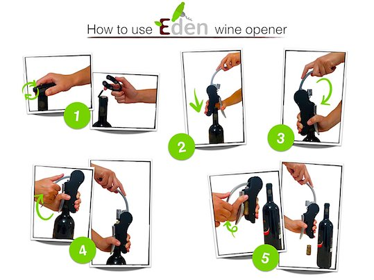 Practical Wine Opener for Traveling