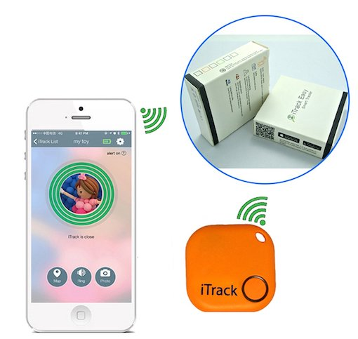 Tracking Device for mobile, package