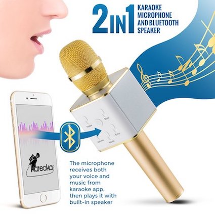 Wireless Microphone - Functional and Smartphone Integrated