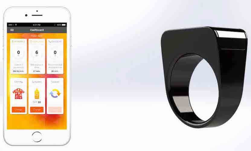 Helios Smart Ring device