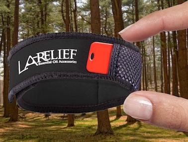 Relief Repellent Bracelet to Protect You While Travelling