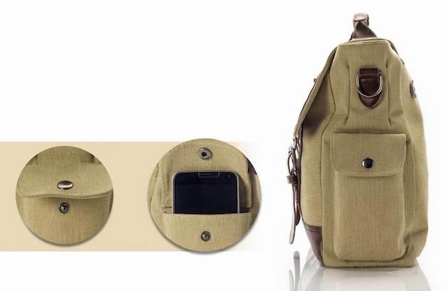 Retro Style MacBook Bag