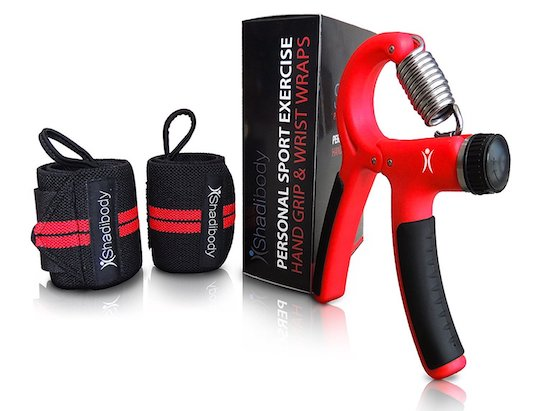 Train Your Hand Grip with Shadibody Strengthener