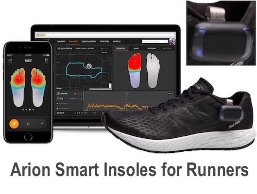 Arion Smart Insoles for Runners