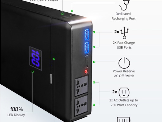 ChargeTech Plug – Power Bank