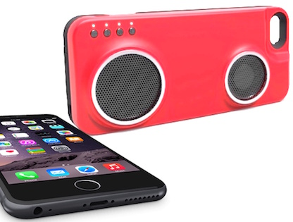 iPhone Case with Built-In Speaker