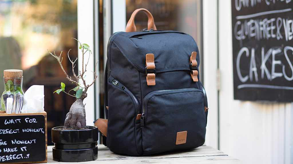 Smart Backpack with Wireless Charging