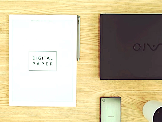 Sony Tablet Replaces Paper