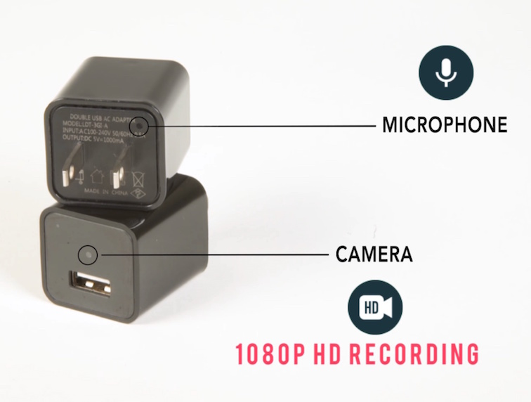 Video Camera that Looks Like a Charger