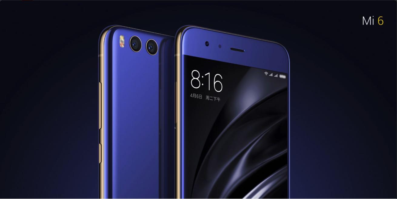 Xiaomi Mi6 4G Smartphone