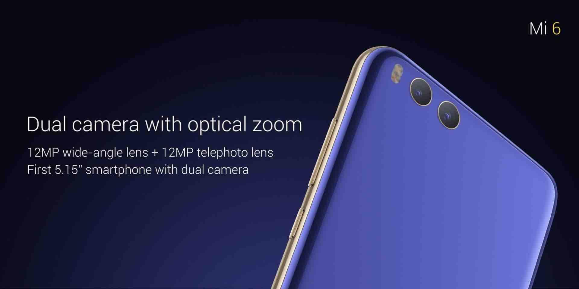 Xiaomi Mi6 Officially