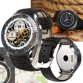 I2 Waterproof Smart Watch with Android 5.1 and 3G