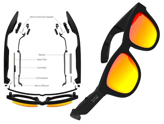 Innovative Sunglasses with Integrated Speakers
