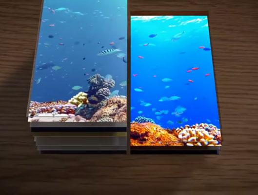 Samsung Flexible OLED Displays