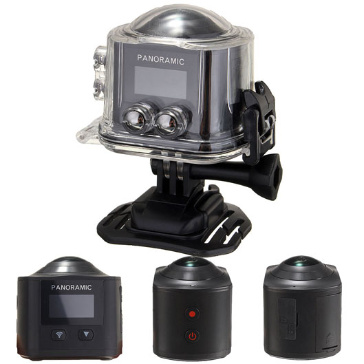 360 Degree Panoramic Action Camera