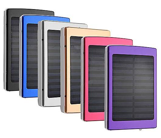 8000mAh Dual USB Solar Power Bank