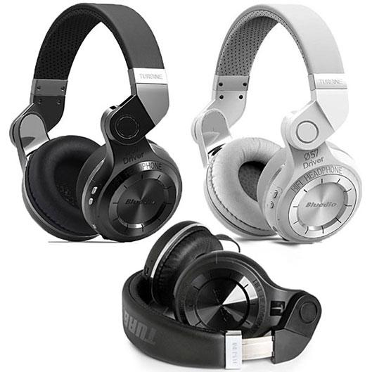Bluedio T2 Bluetooth Stereo Headphones Turbine Hurricane